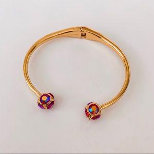 Kate Spade multicolor gems cuff bracelet